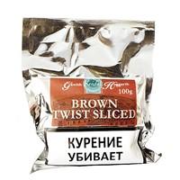 Трубочный табак Gawith Hoggarth BROWN TWIST SLICED 100 гр