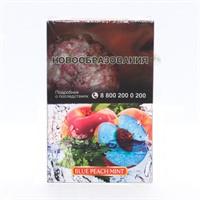Табак для кальяна Adalya Blue Peach Mint (Адалия Голубой Персик с мятой ) 50 гр