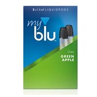 Сменные капсулы MY BLU INTENSE Зеленое Яблоко 0 мг