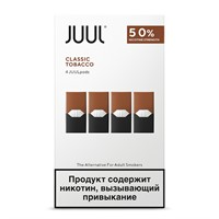 Картридж Juul Labs JUUL (Classic Tobacco) x4 (59 мг) 0,7 мл