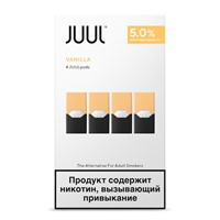 Картридж Juul Labs JUUL (Vanilla) x4 (59 мг) 0,7 мл