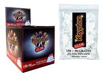 Фильтры для сигарет KRYPTON SLIM FILTERS 6x15mm (200 шт)