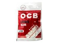 Фильтры для самокруток OCB SLIM Long Filters (100 шт)
