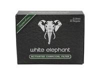Фильтры для трубок White Elephant Угольные 9 мм (40 шт)