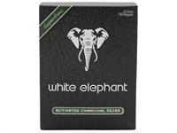 Фильтры для трубок White Elephant Угольные 9 мм (150 шт)
