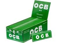 Сигаретная бумага OCB №8 GREEN Cut-Corners 50 листов 70 мм