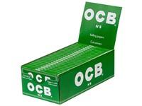 Сигаретная бумага OCB DOUBLE №8 GREEN Cut-Corners 100 листов 70 мм