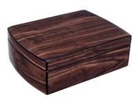 Хьюмидор Lubinski с подарочным набором на 30 сигар, Орех матовый  QB206