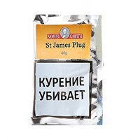 Табак для трубки Samuel Gawith St. James Plug 40 гр