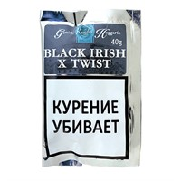 Трубочный табак Gawith Hoggarth Black Irish X Twist 40 гр