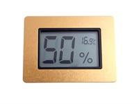 Термо-Гигрометр цифровой, золото 596-521g