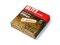Фильтры для трубки BLITZ CHARCOAL 9 мм (упаковка 40 штук) -