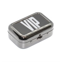 Пепельница карманная VIP 11550 металлик