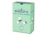 Фильтры для самокруток MASCOTTE  Smooth Угольные 8 мм ( 100 шт)