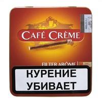 Сигариллы Cafe creme filter arome (10 шт)
