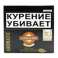 Набор сигарилл Candle Light Aromatic Filter (пачка 50 шт)