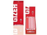 Бумага для сигарет  Gizeh Red Fine 50 листов