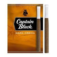 Сигары Captain Black Tipped Dark Crema (пачка 8 шт.)