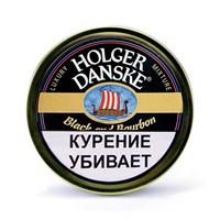 Табак для трубки Holger Danske Black and Bourbon 100 гр.