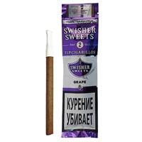 Сигариллы Swisher Sweets Grape Tip Cigarillos (2 шт.)