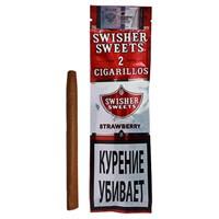 Сигариллы Swisher Sweets Strawberry Cigarillos (2 шт.)