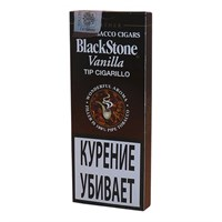 Сигариллы Black Stone Tip Cigarillos Vanilla (5 шт)