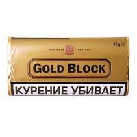Трубочный табак GOLD BLOCK, кисет 40 гр.