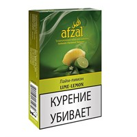 Табак для кальяна Afzal Lime-Lemon (Лайм-Лимон) 40 гр.