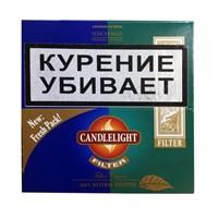 Набор сигарилл Candle Light Sumatra - Menthol Filter (упаковка 50 штук)