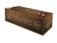 Гильзы для сигарет INVICTUS BROWN TUBES GOLD RING 24 mm (200 шт)