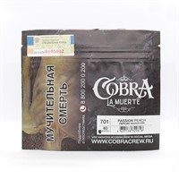 Табак для кальяна Cobra La Muerte 701 Passion Peach (Персик маракуйя) 40 г