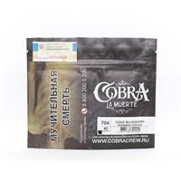 Табак для кальяна Cobra La Muerte 704 Cold Blueberry (Холодная черника) 40 гр