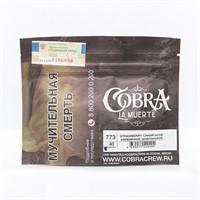 Табак для кальяна Cobra La Muerte 773 Strawberry champagne (Клубничное шампанское) 40 гр