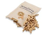 Фильтры для самокруток MASCOTTE Slim Filters Organic X-Long 6 мм (120 шт)