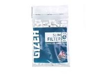 Фильтры для самокруток Gizeh Slim Угольные 6 мм (120 шт)