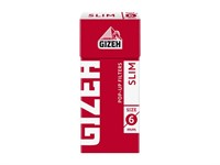 Фильтры для самокруток Gizeh Pop-Up filters Slim 6 mm (102 шт)