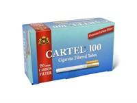 Гильзы для сигарет CARTEL Carbon 20 мм (100 шт)