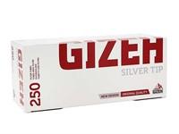 Гильзы для сигарет Gizeh Silver Tip (250 шт)