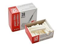 Фильтры для трубки Denicotea 6 мм бумажные (уп-ка 36 шт)